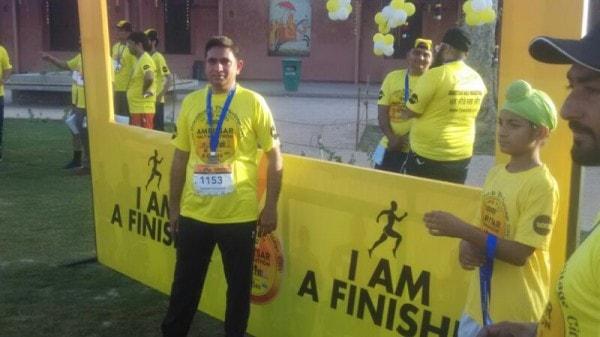 Nutrition Partner at Amritsar Half Marathon