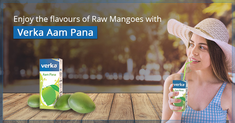 Enjoy the flavors of raw mangoes with Verka Aam Panna