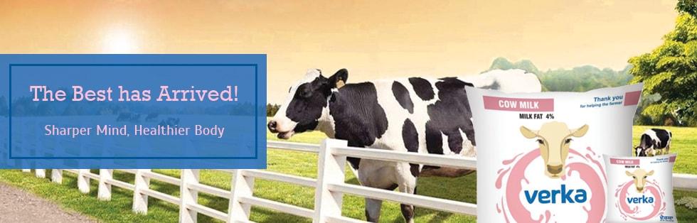 Verka Cow Milk: The Best has Arrived!