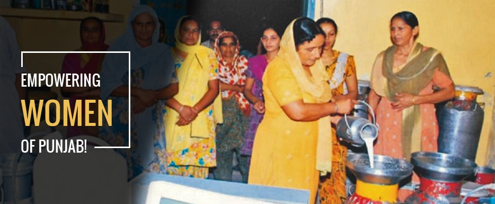 Women Dairy Cooperatives: Empowering the Women of Punjab!