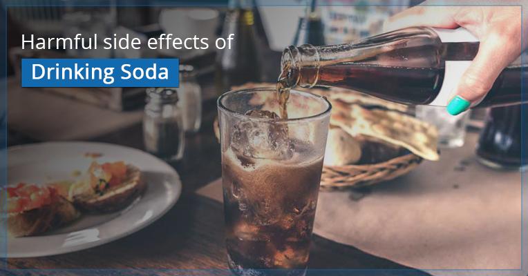 Harmful side effects of Drinking Soda