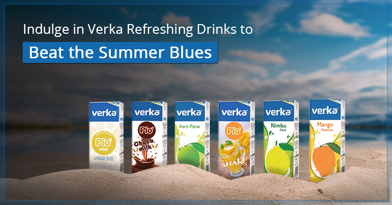 Indulge in Verka Refreshing Drinks to Beat the Summer Blues