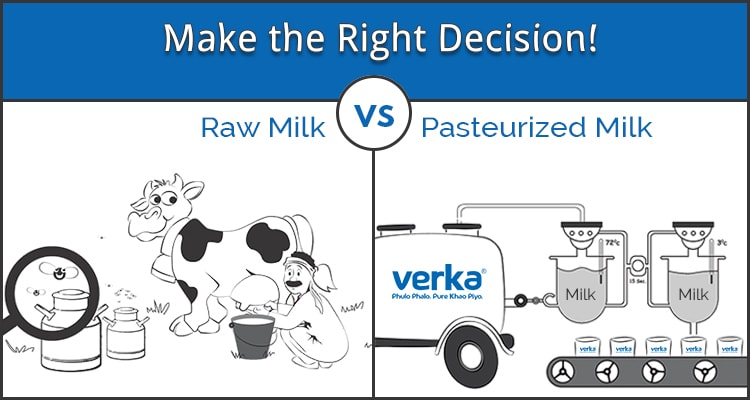 Which Milk is Healthier for you and your Family: Pasteurized or Raw?