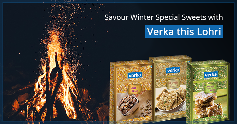 Ready to Eat Lohri Sweets, Snacks, and Milk Products Online