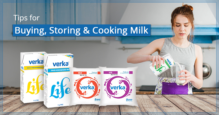 Tips to Buying, Storing and Cooking Milk!
