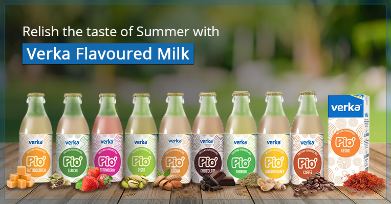 Relish the taste of summer with Verka Flavoured Milk