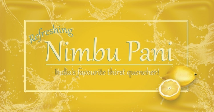 Nimbu Pani – Favourite Thirst Quencher of India!