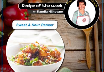 Sweet & Sour Paneer