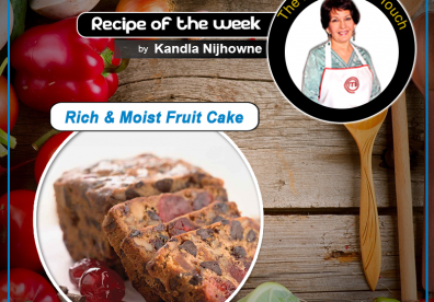 Rich & Moist Fruit Cake