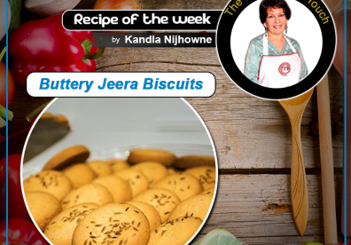 Buttery Jeera Biscuits
