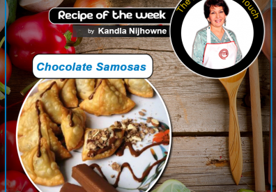 Chocolate Samosas