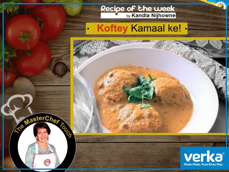 Malai Koftas using Verka Milk and Paneer