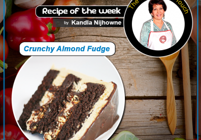 Crunchy Almond Fudge