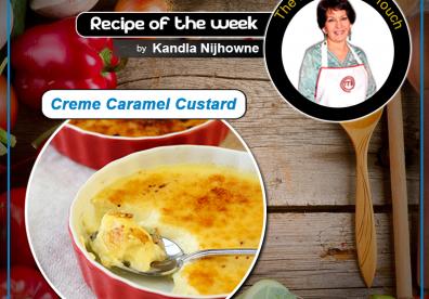 Creme Caramel Custard