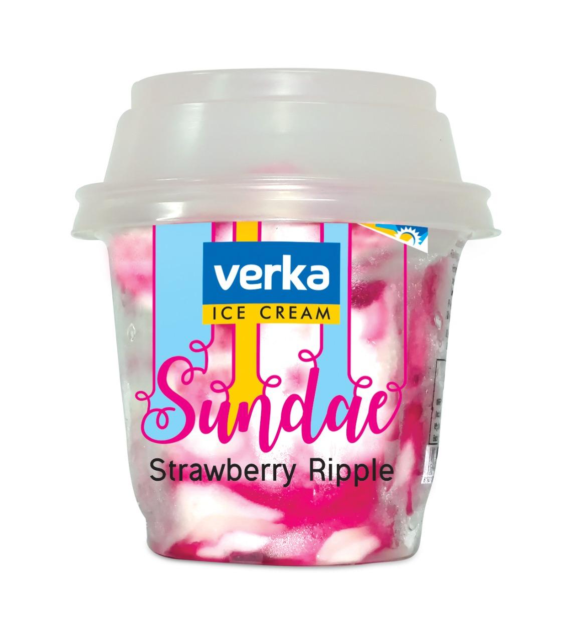 Sundae Strawberry Ripple